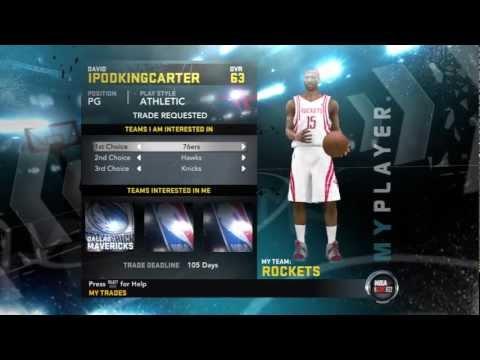 NBA 2K12 My Player Mode