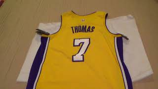 Los Angeles Lakers Isiah Thomas Swingman Jersey Unboxing/Review
