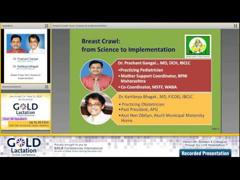 Dr. Prashant Gangal Interview - Gold Lactation 2014 video