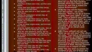 Islam and The Ten Virgins