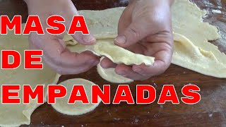 Recipe | Masa para Empanadas Perfecta The Frugal Chef | Masa para Empanadas Perfecta The Frugal Chef