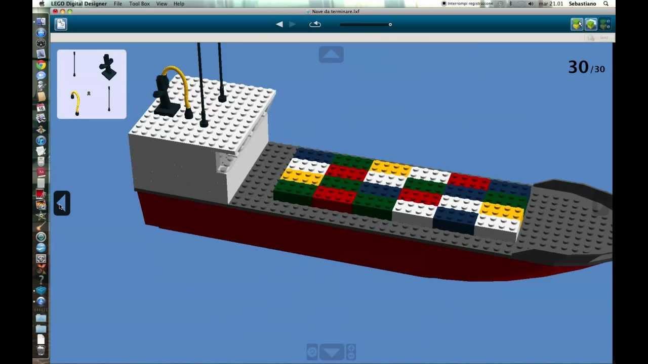 Nave Cargo Lego Digital Designer Youtube