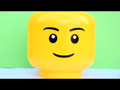 Super Mega Lego Head Surprise Toys Monster Trucks Vehicles Cars toys Cash