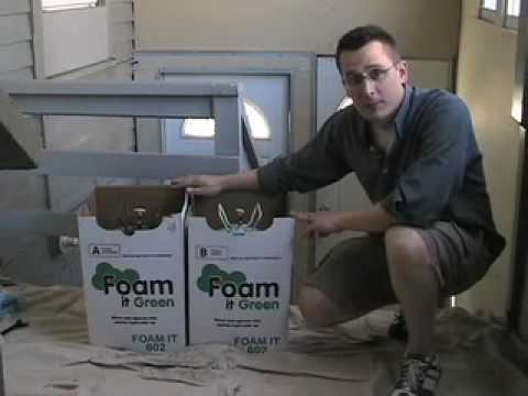 Polyurethane Spray Foam Insulation: Foam It 602 Demo