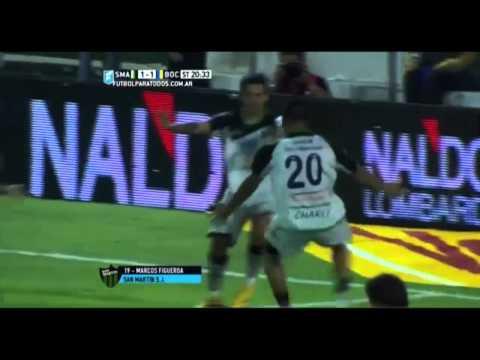 San Martín de San Juan 1 - Boca Jrs 1 Goles del Partido / Fecha 6 Torneo Julio H. Grondona 2015