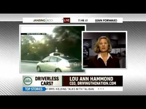 Google tests self-driving cars on MSNBC