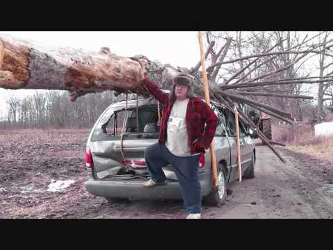 Ako si jednoducho prerobiť osobné auto na klanicový náves na drevo