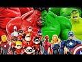 Romeo Is Attacking Incredibles & PJ Masks! Avengers Go~! Hulk, Iron Man, Spider Man, Captain America