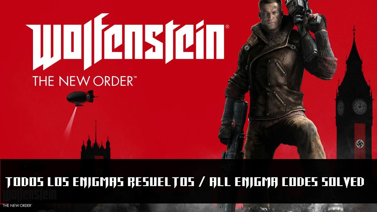 how to solve the enigma codes wolfenstein