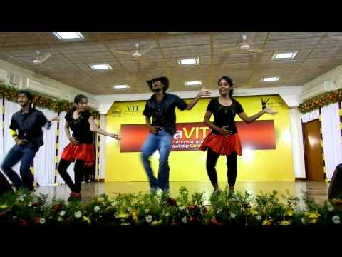 mukhala muqabla(prabhudeva) -CHARGERS DANCE PERFORMANCE IN VIT...