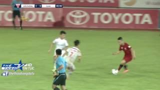 10 phút tuyệt hay cuối trận Hải Phòng – SLNA (vòng 26 V.League 2016)