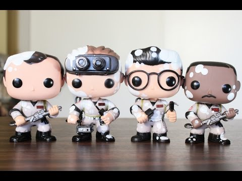 Marshmallow Ghostbusters SDCC 2014 exclusive Funko Pop review