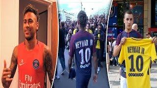 Neymar Chega como LENDA no PSG