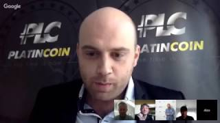 Presentation from the company's founders #Platincoin Webinar #Germany vom 09 04 2017