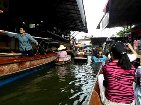 bangkok floating market.AVI
