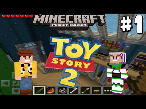 Minecraft Pocket Edition: Toy Story 2 (Adventure Map): Part 1