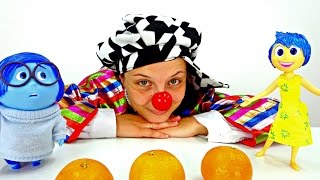Funny Clown videos for kids. LE Clown is a juggler!