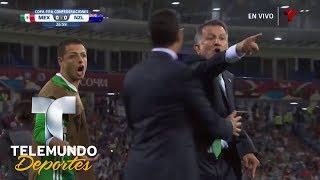 A. Talavera le tapa gol a Wood y la banca estalla   Copa FIFA Confederaciones Rusia 2017   Telemundo