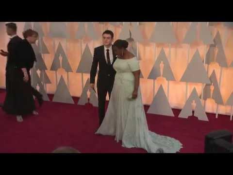 Oscars: Octavia Spencer Red Carpet Fashion (2015)