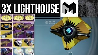 3x Flawless Loot: Amazing Luck from the Lighthouse! Destiny Rise of Iron