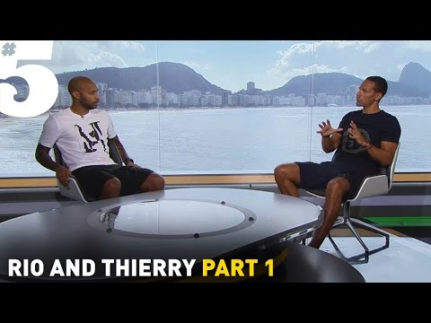 Thierry Henry: 'Weah, Ronaldo and Van Basten were my idols' | Rio & Thierry Part 1