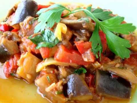 Вкусные баклажаны (на зиму/на гарнир) по-турецки. Баклажанная икра рецепт/Patlıcan yemeği