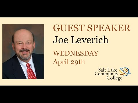 2015 Spring Business Lecture - Joe Leverich