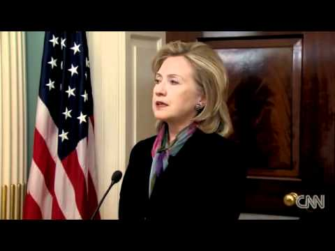 CNN - 29 Nov 2010 - Hillary Clinton Responds to WikiLeaks Documents Claims