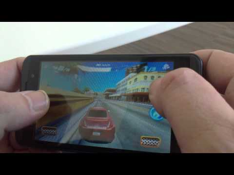 LG Optimus 3D test. Gaming, video, 3D.
