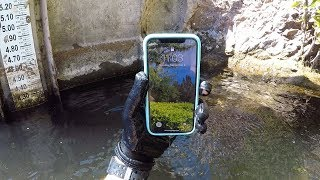 Found iPhone X, iPhone 7 and iPhone 6s Underwater in the River! (Owner Was Stranded!)