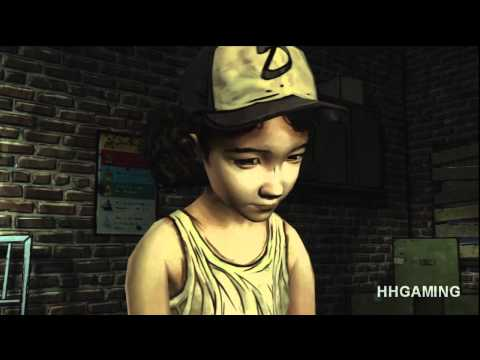 The Walking Dead Game - episode 1 walkthrough no commentary Full Episode HD Gameplay