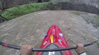 Gopro Drainage Ditch Kayaking