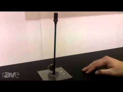 InfoComm 2013: Arthur Holm Shows DynamicTalk Retractable Microphone