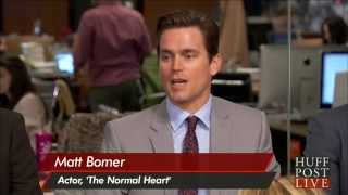 "Matt Bomer On Extreme Weight Loss For ""The Normal Heart"""