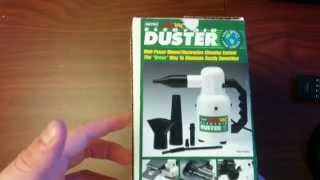 Metro Vacuum DataVac Electric Duster Unboxing, Demo, and Review (Ep.7) My Head in the Cloud