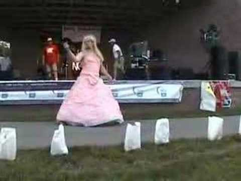 Ms. Relay 2008 - Sword and a dress