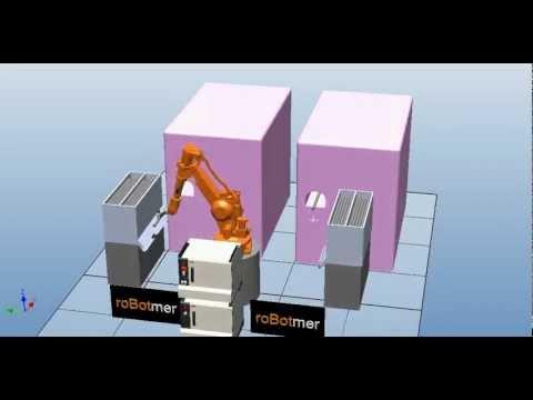 Taşıma Robotu Simülasyonu 15