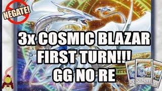 3X COSMIC BLAZAR DRAGON FIRST TURN!!! WTF NEGATES EVERYTHING! LEVEL EATER NEEDS TO GO! BROKEN! 2016