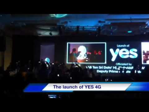 YTL YES 4G launch @ JW Marriott KL