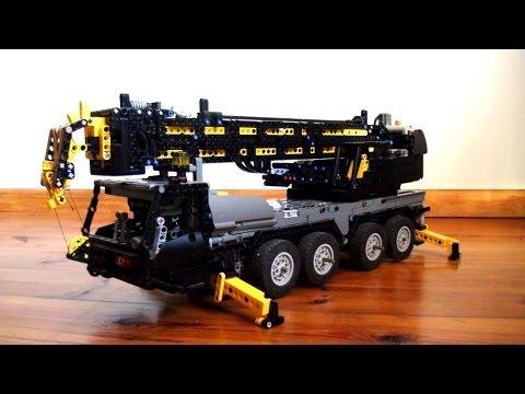 Lego Technic RC Mobile Crane