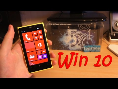 Прошивка Nokia Lumia 920 Windows 10 - YouTube