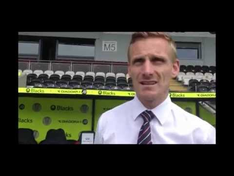 Gary Teale - Player/Coach - 14/05/2014