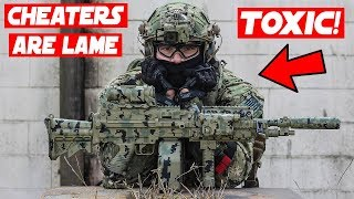 The ULTIMATE Airsoft CAMPING Spot!! ( Toxic Male Behavior )