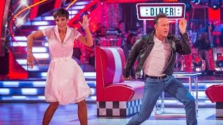Frankie Bridge & Kevin Clifton Charleston to 'Happy Days' - Strictly Come Dancing: 2014 - BBC One