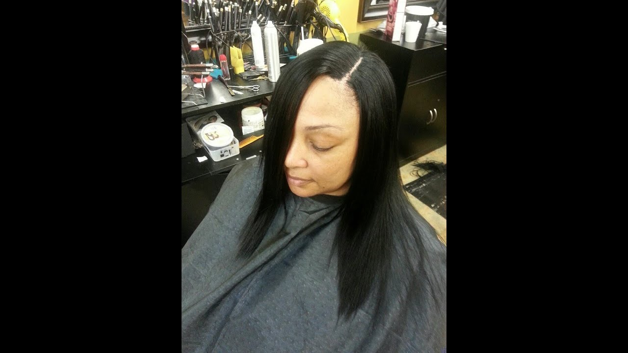 Overlay The Illusion Part Sew In On Thinning Hair