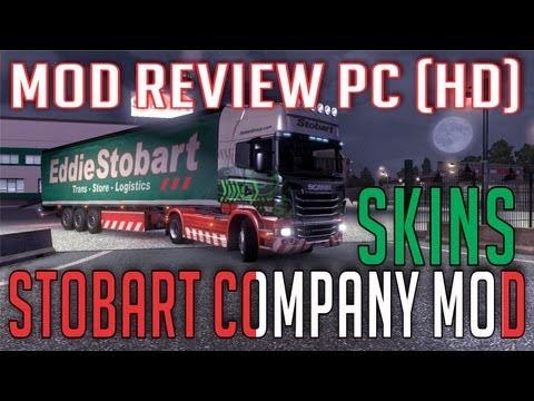 Eddie Stobart company mod (Euro Truck Simulator 2)