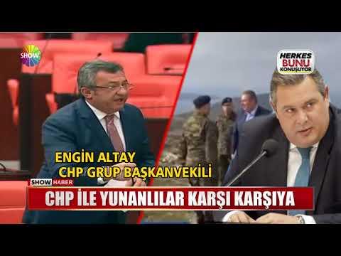 CHP ile Yunanlılar karşı karşıya