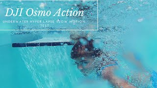 DJI Osmo Action Underwater Slow Motion And Time Lapse Test 🌊