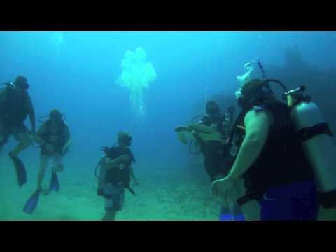 Dive Site Carib Cargo - St. Maarten