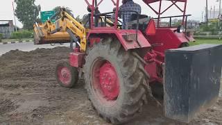 Mahindra 265 Di power s vs bull कंपनी का लोडर बहुत बढ़िया शानदार काम कर रहा है